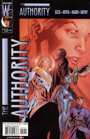 Cover for The Authority #12 (2000)