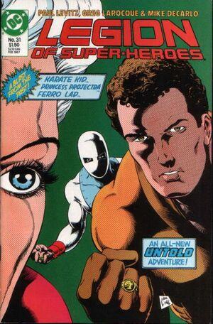 Legion of Super-Heroes Vol 3 31