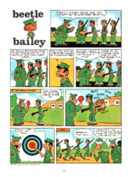 Beetle Bailey Comic Panel