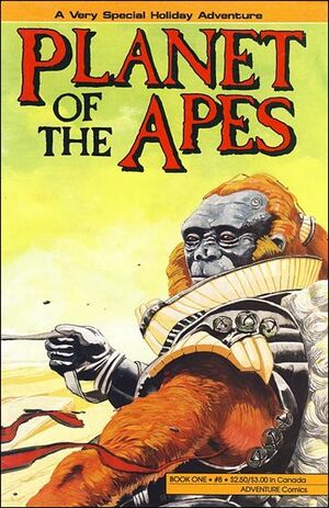 Planet of the Apes (Adventure) Vol 1 8