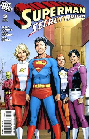 Superman Secret Origin Vol 1 2