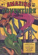 Amazing Adventure Funnies Vol 1 1