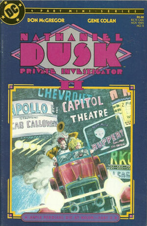 Nathaniel Dusk Vol 2 2