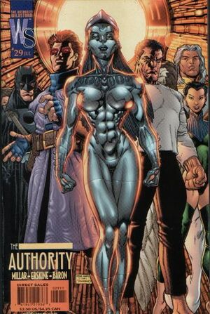 Cover for The Authority #29 (2002)