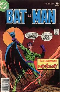 Batman Vol 1 292