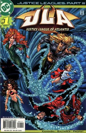 Justice Leagues Justice League of Atlantis Vol 1 1