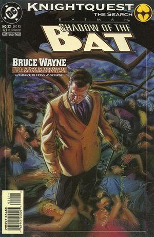 Batman Shadow of the Bat Vol 1 22