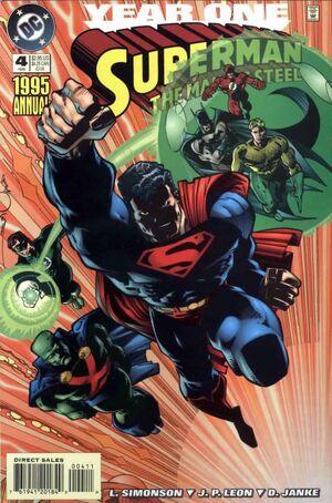 Superman Man of Steel Annual Vol 1 4