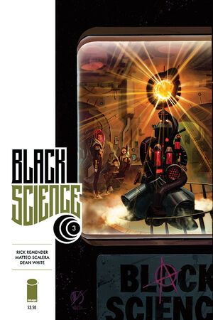 Cover for Black Science #3 (2014)