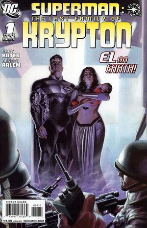 Superman Last Family of Krypton Vol 1 1