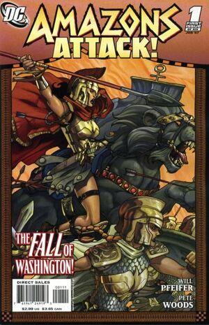 Amazons Attack Vol 1 1