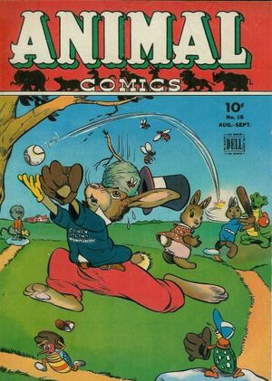 Animal Comics Vol 1 16