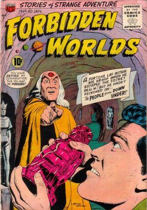 Forbidden Worlds Vol 1 40