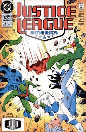 Justice League America Vol 1 38