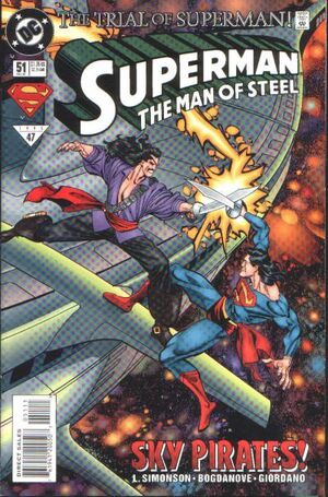 Superman Man of Steel Vol 1 51