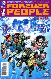 Infinity Man and the Forever People Vol 1 1