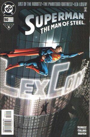Superman Man of Steel Vol 1 90
