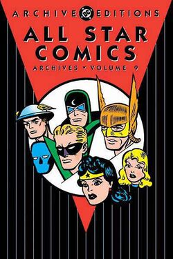 Cover for the All-Star Comics Archives Vol 1 9 Trade Paperback