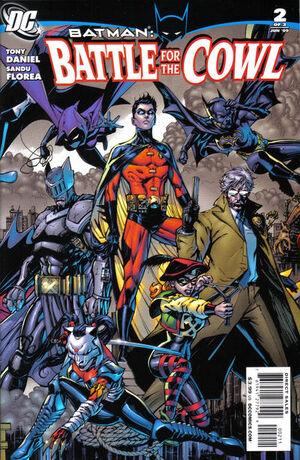 Batman Battle for the Cowl Vol 1 2