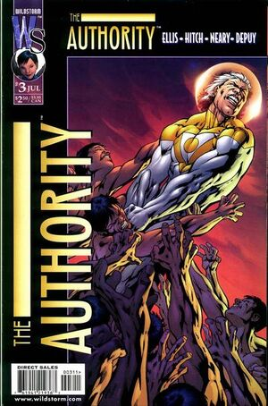 Cover for The Authority #3 (1999)
