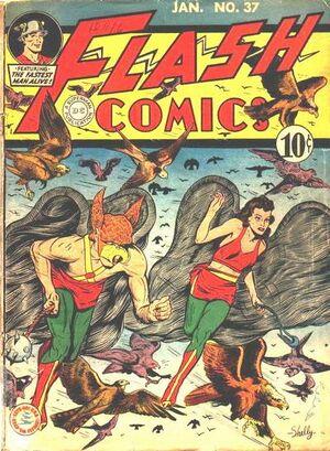 Flash Comics Vol 1 37