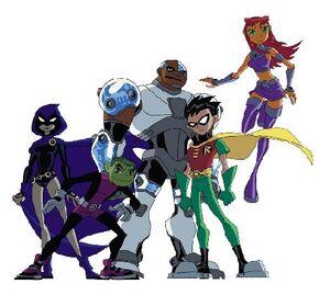 Teen Titans animated 1