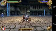 Blade Hound battle