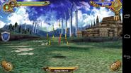 Flying sword- battle