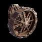 Gun-mount wheel