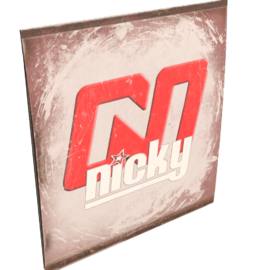 Nicky TV Sign