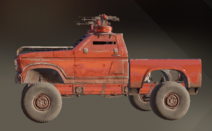 Cold Flame paint dye on vehicle