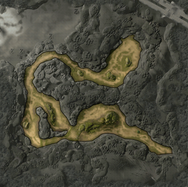 Затерянный берег Карта