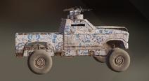 Northern Fairytale paint dye on vehicle
