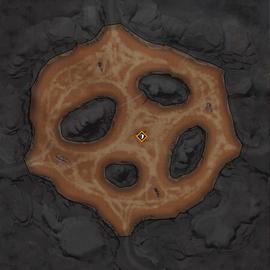 Ущелье El Diabla Карта