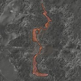 Мёртвое шоссе Карта