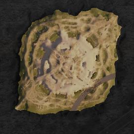 Кратер карта