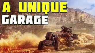 A unique garage of the Horsemen of Apocalypse Crossout