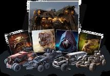 Специальный набор Четыре всадника апокалипсиса