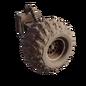 Studded wheel