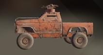 Scorching Sand paint dye on vehicle