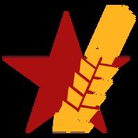 Красная звезда большая