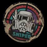Нашивка Снайпер