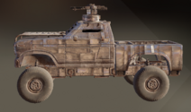 Cold Steel paint dye on vehicle