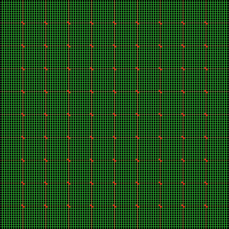Dl map following 5000 setka