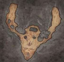 Сломанная стрела Карта