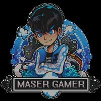 Maser Gamer Sign большая
