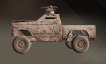 Epitaph paint dye on vehicle