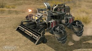 Crossout screenshot 2 hovers