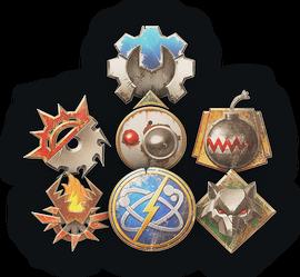 Набор Логотипы фракций