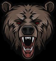 Рык медведя большая